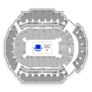 CenturyLink Center Omaha Seating Chart Horse Racing