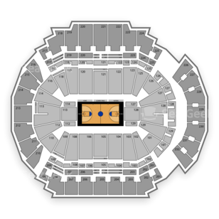 CenturyLink Center Omaha Seating Chart NCAA Basketball