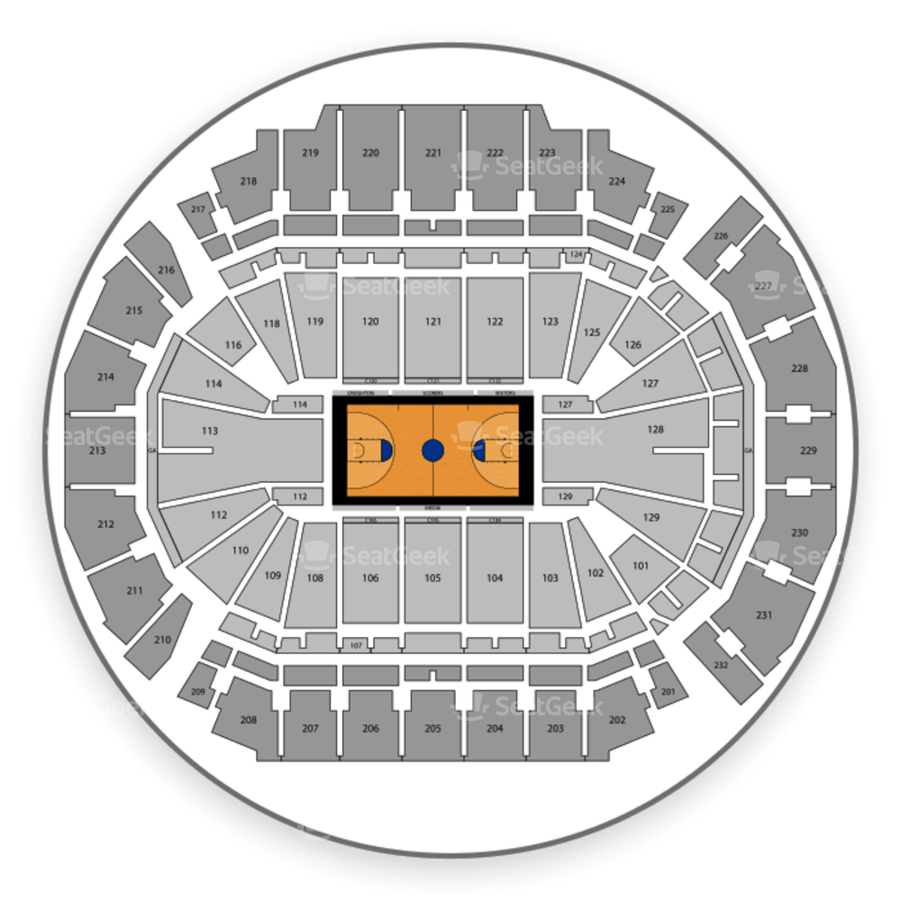 CHI Health Center Omaha Seating Chart NCAA Basketball
