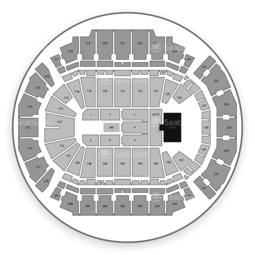 Chi Health Center Omaha Seating Chart Map Seatgeek