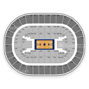 Penn State Nittany Lions Basketball Seating Chart