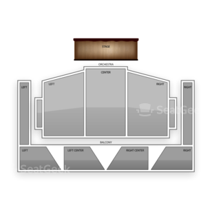 Royce Hall - UCLA Seating Chart Comedy