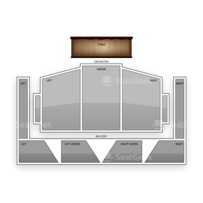 Royce Hall - UCLA seating chart La Sera