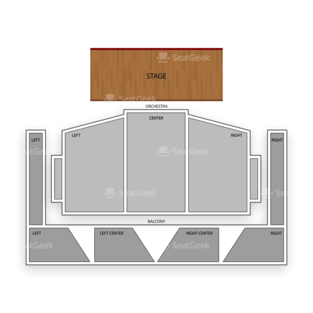 Royce Hall Seating Chart Classical Opera