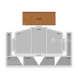 Royce Hall Seating Chart Comedy
