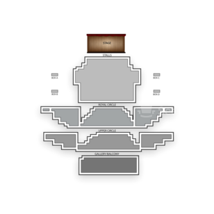 Theatre Royal Haymarket Seating Chart Theater