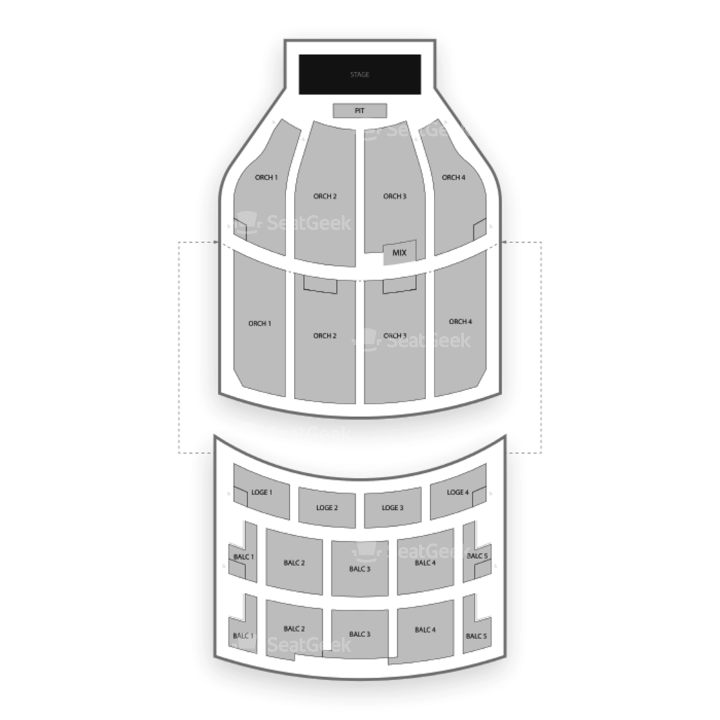Akron Civic Theatre Seating Chart & Map | SeatGeek on symphony orchestra seating, petco park seating, van andel arena seating,