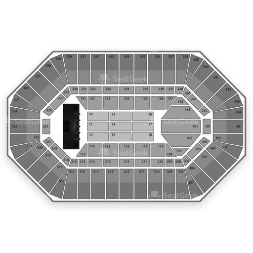 Freedom Hall Seating Chart