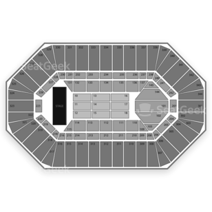 Freedom Hall Seating Chart Concert