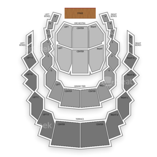 Meyerhoff Symphony Hall Seating Chart Comedy
