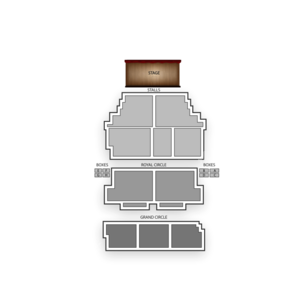 Shaftesbury Theatre Seating Chart Theater