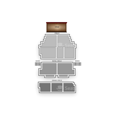 Shaftesbury Theatre seating chart Memphis - The Musical