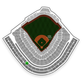Chicago Cubs at Wrigley Field Upper Deck Box Infield 416 View