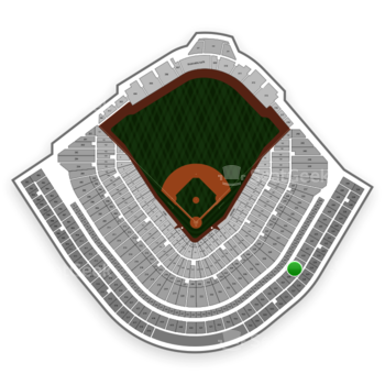 Chicago Cubs at Wrigley Field Upper Deck Box Infield 429 View