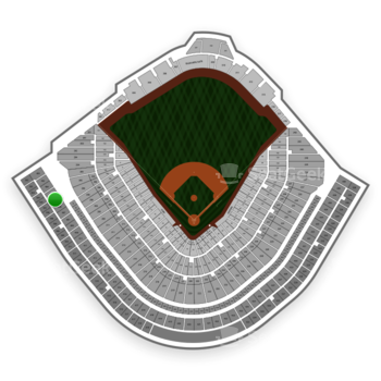 Chicago Cubs at Wrigley Field Upper Deck Box Outfield 406 View
