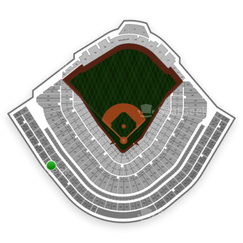 Chicago Cubs at Wrigley Field Upper Deck Reserved Infield 512 View