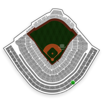 Chicago Cubs at Wrigley Field Upper Deck Reserved Infield 525 View