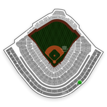 Chicago Cubs at Wrigley Field Upper Deck Reserved Infield 527 View