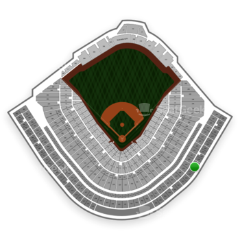 Chicago Cubs at Wrigley Field Upper Deck Reserved Infield 529 View