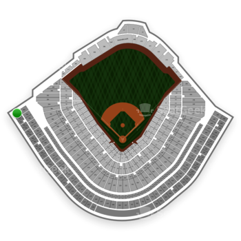Chicago Cubs at Wrigley Field Upper Deck Reserved Outfield 503 View