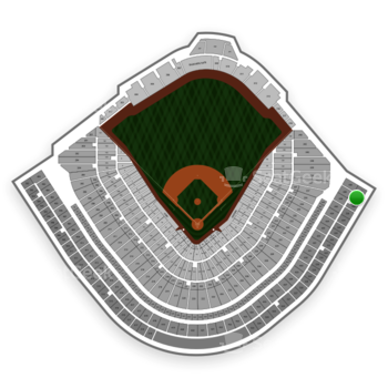 Chicago Cubs at Wrigley Field Upper Deck Reserved Outfield 538 View