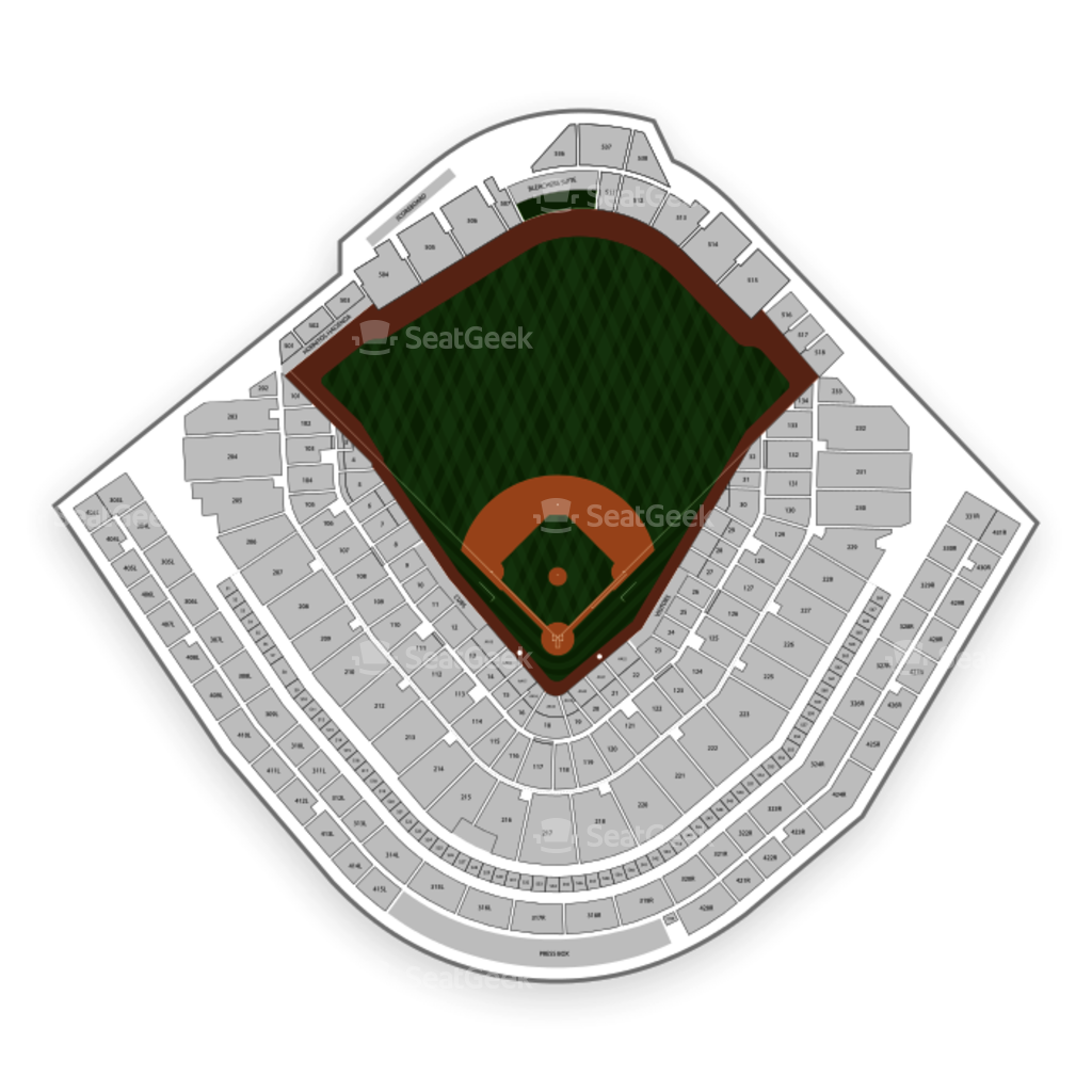 Chicago cubs seating chart map seatgeek