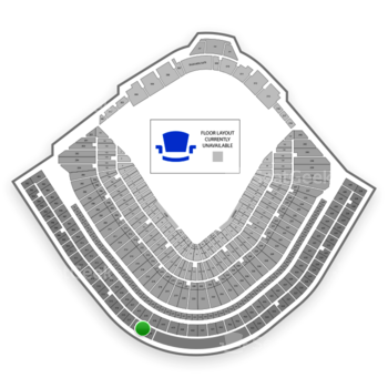 MLB at Wrigley Field Upper Deck Reserved Infield 518 View