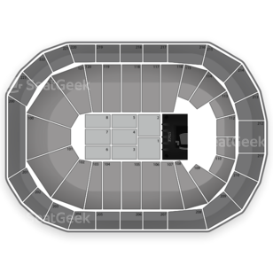 The Arena At Gwinnett Center Seating Chart Concert