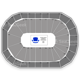 Infinite Energy Arena Seating Chart Theater