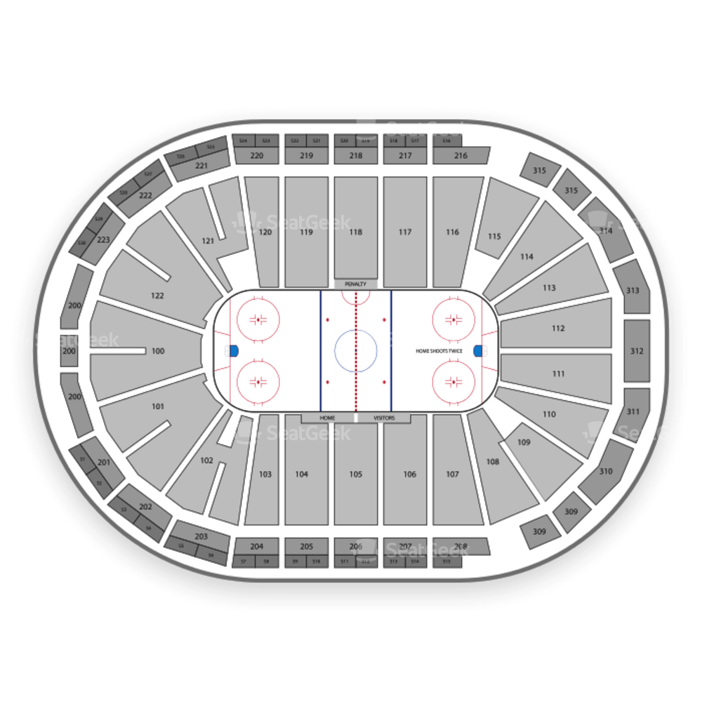 Atlanta Gladiators Seating Chart