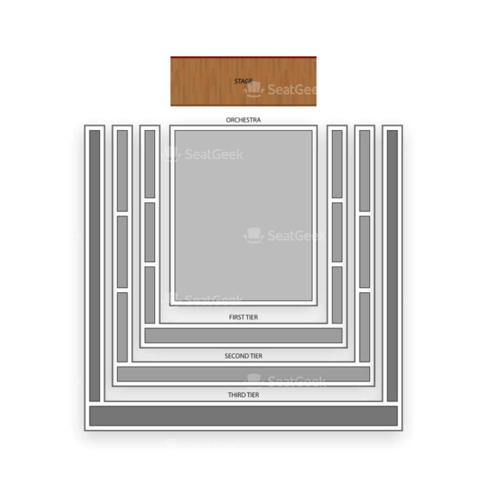 Abravanel Hall Seating Chart Theater