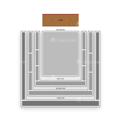 Abravanel Hall seating chart Utah Symphony