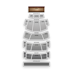 Michael & Susan Dell Hall Seating Chart Theater