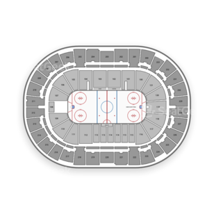 Greenville Swamp Rabbits Seating Chart