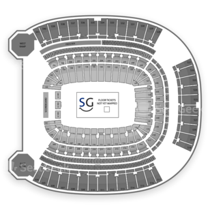 Heinz Field Seating Chart Concert