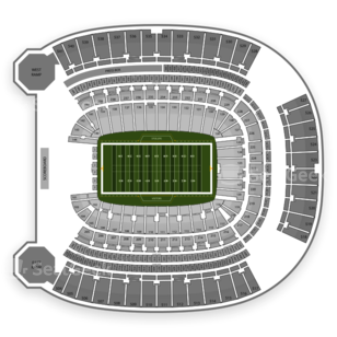 Pittsburgh Panthers Football Seating Chart