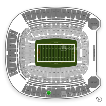 Pittsburgh Steelers at Heinz Field Section 533 View