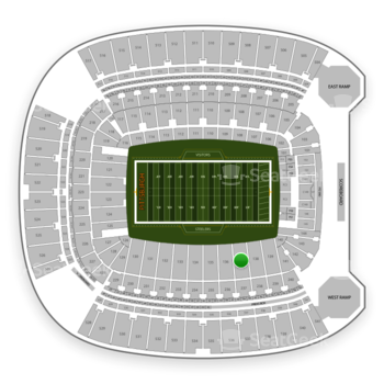 Pittsburgh Steelers at Heinz Field Section 137 View