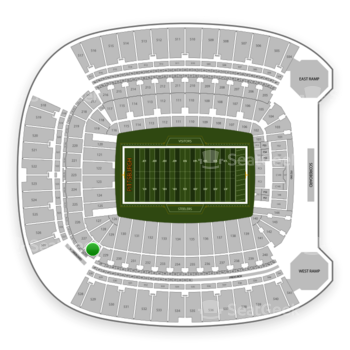 Pittsburgh Steelers at Heinz Field Section 228 View