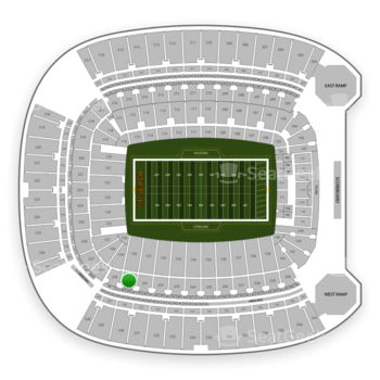 Pittsburgh Steelers at Heinz Field Section 230 View