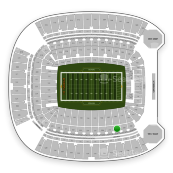 Pittsburgh Steelers at Heinz Field Section 238 View