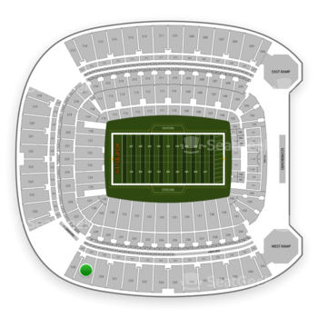 Pittsburgh Steelers at Heinz Field Section 529 View
