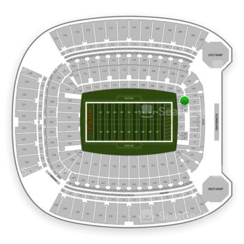 Pittsburgh Steelers at Heinz Field Section FS 5 View