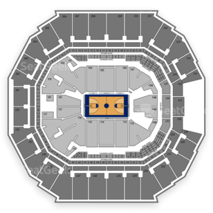 CIAA(r) Men's and Women's Basketball Tournament Seating Chart
