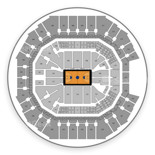 Spectrum Center Seating Chart NCAA Basketball