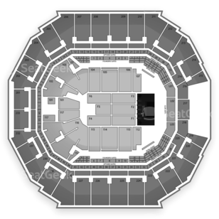 Time Warner Cable Arena Seating Chart Comedy