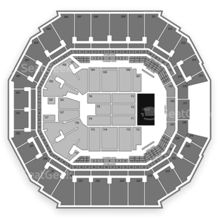 Spectrum Center Seating Chart Concert