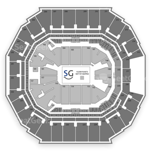 Time Warner Cable Arena Seating Chart NHL