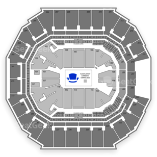 Spectrum Center Seating Chart Family