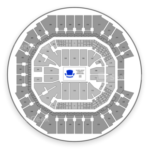 Spectrum Center Seating Chart NHL